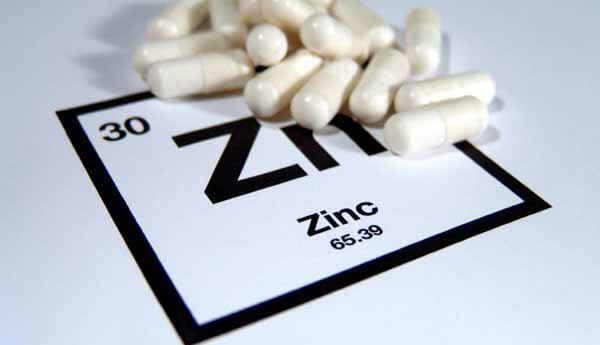 Suplementos de zinco