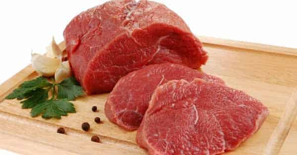 Carne vermelha para o ganho de massa muscular