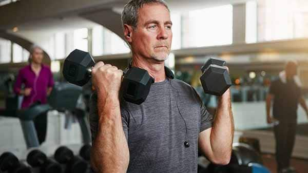 Dicas de musculação para pessoas com mais de 40 anos