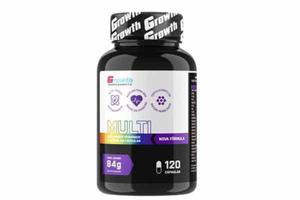 Multivitaminico Growth Suplements