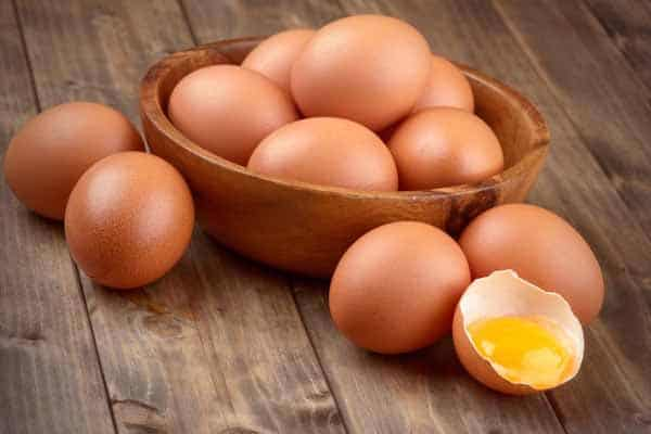 Ovos para ganhar massa muscular