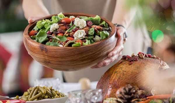 Não consuma alimentos calóricos nas festas de fim de ano
