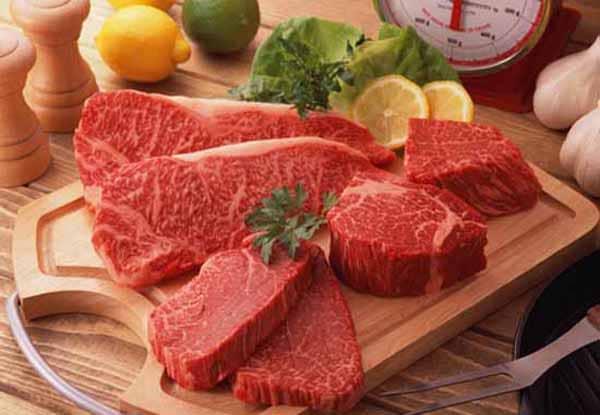consuma carne vermelha para aumentar a massa muscular