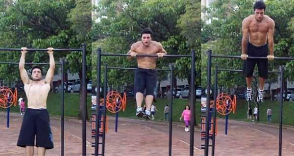 exercício calistenia muscle up