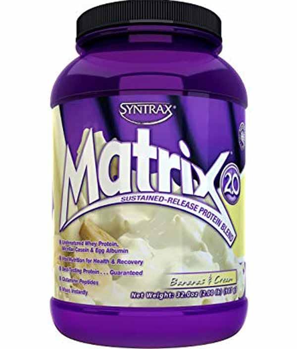 matrix: uma das melhores proteínas time-release do Brasil