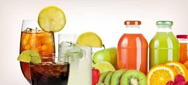 não troque refrigerantes por sucos