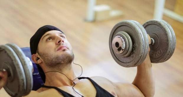 efeitos da música na musculação
