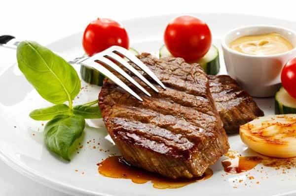 proteína do bife antes treino musculação