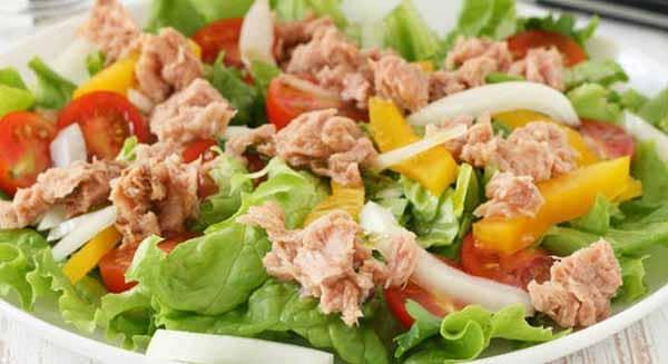 receita salada atum