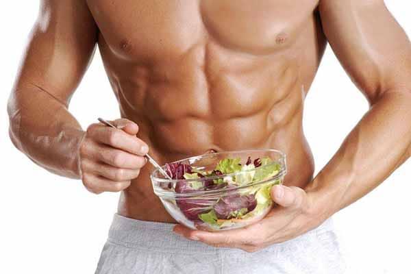 tenha uma boa alimentacao para aumentar a massa muscular