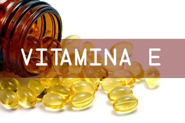 suplementação de vitamina E