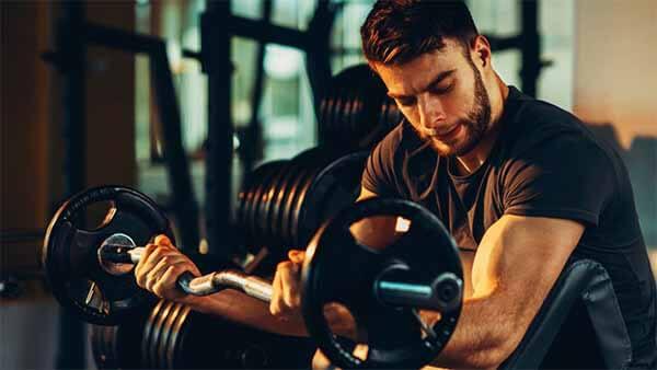 intensidade correta da musculação