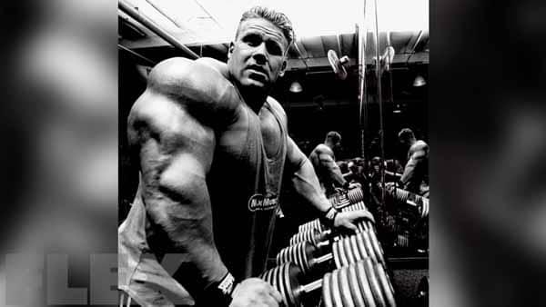 jay cutler dicas de tríceps