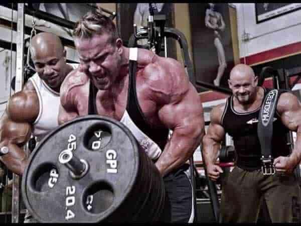 musculação intensidade