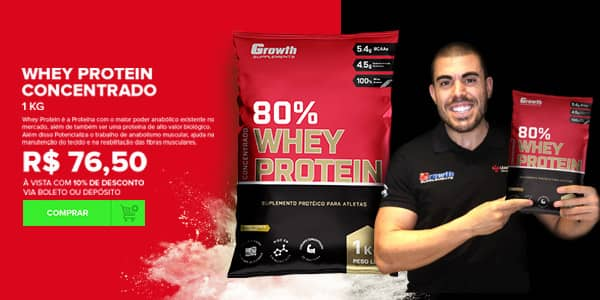whey protein growth supplements nova versão