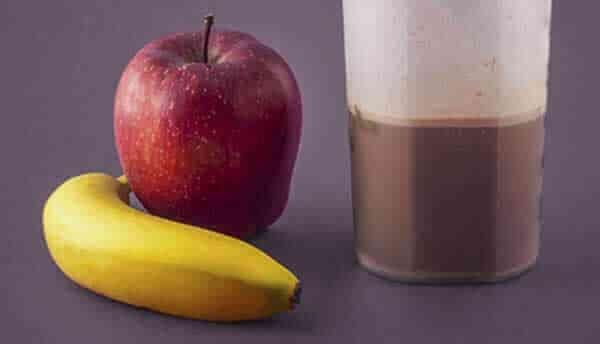 whey protein com frutas