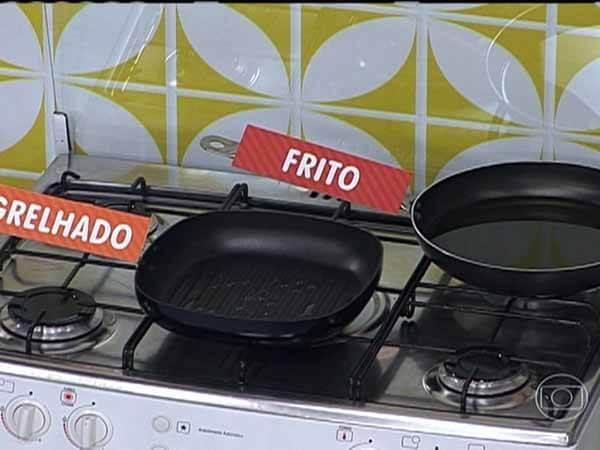 diferenca entre fritar e grelhar