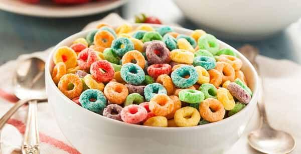 cereal matinal infantil