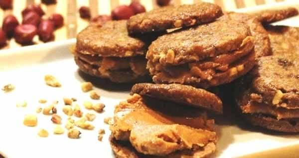 cookies pasta de amendoim