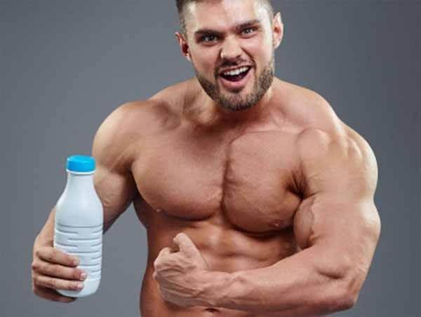 leite aumento testosterona