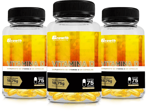 Suplemento Vitamina D Growth Supplements