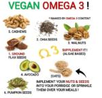 素食圖片:如何從蔬菜來源獲取純素 Omega-3