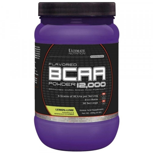 Suplemento BCAA 12000 Powder da Ultimate Nutrition